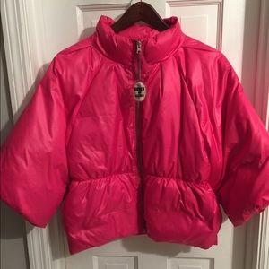 Bright pink Puffer Jacket